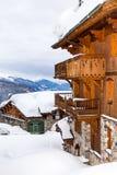 Mooie plaats in de Alpen royalty-vrije stock foto