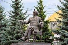 Mooie plaatsen in de stad Architectuur Sergiev Posad 2018 Stad het gebied van Moskou stock afbeelding