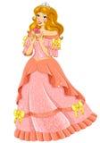 Mooie prinses Royalty-vrije Stock Fotografie