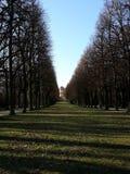 mooie promenade in het park van de kastelen van San Susi royalty-vrije stock afbeeldingen