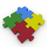 Mooie puzzel royalty-vrije illustratie