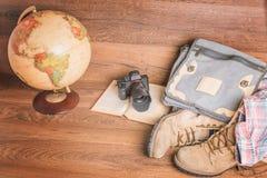 Mooie reis in de wereld Stock Afbeeldingen