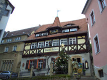Mooie renaissance die Duitsland bouwen Stock Foto's