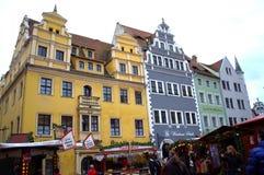 Mooie renaissancehuizen Duitsland Stock Foto