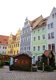 Mooie renaissancehuizen Duitsland Stock Afbeelding