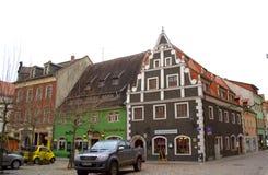 Mooie renaissancehuizen Duitsland Royalty-vrije Stock Afbeeldingen