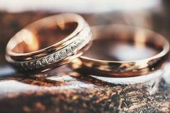 Mooie ring twee Royalty-vrije Stock Afbeeldingen