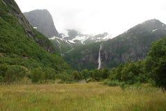 Mooie rivier in Noorwegen Stock Afbeeldingen