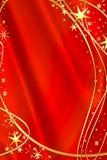 Mooie rode achtergrond stock illustratie