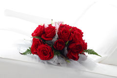 Mooie Rode Rozen Royalty-vrije Stock Foto's
