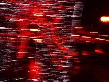Mooie rode verlichtings absract achtergrond Royalty-vrije Stock Afbeeldingen