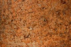 Mooie roesttextuur als achtergrond van de metaalplaat stock afbeelding
