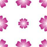 Mooie Roze bloem Naadloos BloemenPatroon Vector Stock Fotografie