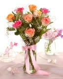 Mooie rozen Royalty-vrije Stock Afbeeldingen