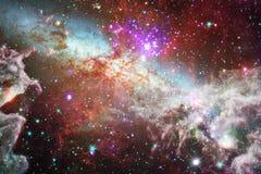 Mooie ruimteachtergrond Cosmocart. Elementen van dit die beeld door NASA wordt geleverd royalty-vrije stock foto's