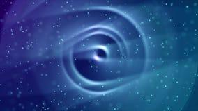 Mooie ruimteanimatie en sterren stock videobeelden