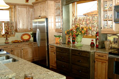 Mooie rustieke keuken royalty-vrije stock foto