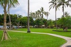 Mooie Scène en aard in de Toevlucht van Bali Stock Fotografie