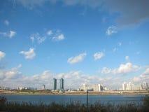 Mooie scène van de stad Seoel, Zuid-Korea Stock Foto