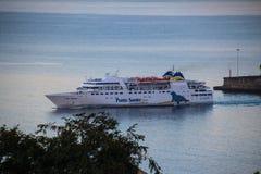 Mooie Schepen en Cruisevoeringen stock fotografie
