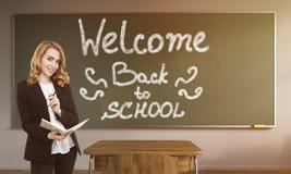 Mooie Schoolleraar Stock Foto's