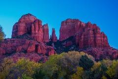 Mooie Sedona Arizona op Sunny Autumn Day Stock Afbeelding