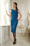 Mooie sexy de kleren van de bedrijfs vrouweninzameling manierstijl Royalty-vrije Stock Foto's