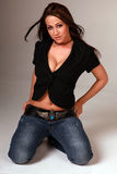 Mooie sexy vrouw Stock Fotografie