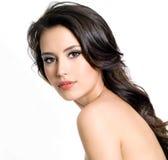 Mooie sexy vrouw met lang haar Royalty-vrije Stock Foto