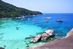 De eilanden van Similan, Thailand, Phuket. Royalty-vrije Stock Afbeeldingen