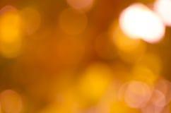 Mooie sinaasappel bokeh Stock Fotografie