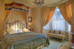 Mooie slaapkamer Royalty-vrije Stock Foto's