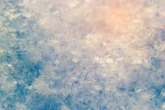 Mooie sneeuwtextuur royalty-vrije stock fotografie