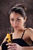 Mooie Spaanse Vrouw Stock Foto