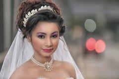 Mooie srilankan bruidclose-up Royalty-vrije Stock Afbeelding