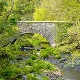 Mooie steen gebouwde brug Royalty-vrije Stock Afbeelding