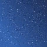 Mooie sterrige blauwe hemel Stock Afbeeldingen