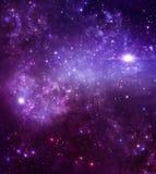 Mooie sterrige hemel vector illustratie