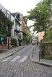 Mooie straat in Londen Stock Foto's