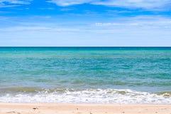 Mooie Strand Oceaanmening Stock Afbeelding