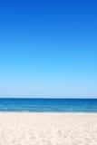 Mooie strandachtergrond Stock Foto
