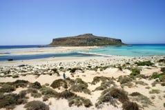 Mooie stranden van Gramvousa royalty-vrije stock foto