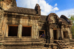 Mooie Structuur van Bapuon-Tempel Royalty-vrije Stock Foto