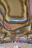 Mooie structuur van Partij 10 Winkelend Centrum Stock Afbeeldingen
