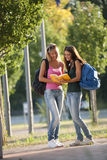 Mooie studenten Stock Foto's