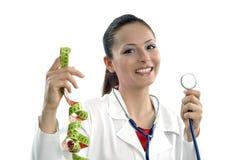 Mooie succesvolle arts - de arbeiders van de Gezondheidszorg Stock Afbeeldingen