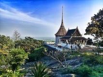 Mooie tempel in Suphan Royalty-vrije Stock Fotografie