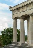 Mooie tempelarchitectuur in München Duitsland - Therensienhoehe royalty-vrije stock afbeelding