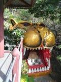 Mooie tempels en aantrekkelijkheden Historisch in Thailand Royalty-vrije Stock Afbeeldingen