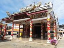 Mooie tempels en aantrekkelijkheden Historisch in Thailand Royalty-vrije Stock Afbeelding